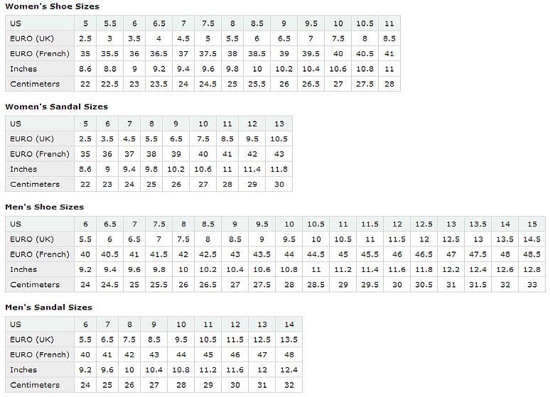 shoe conversion chart images size comparison sizes international also rh pinterest