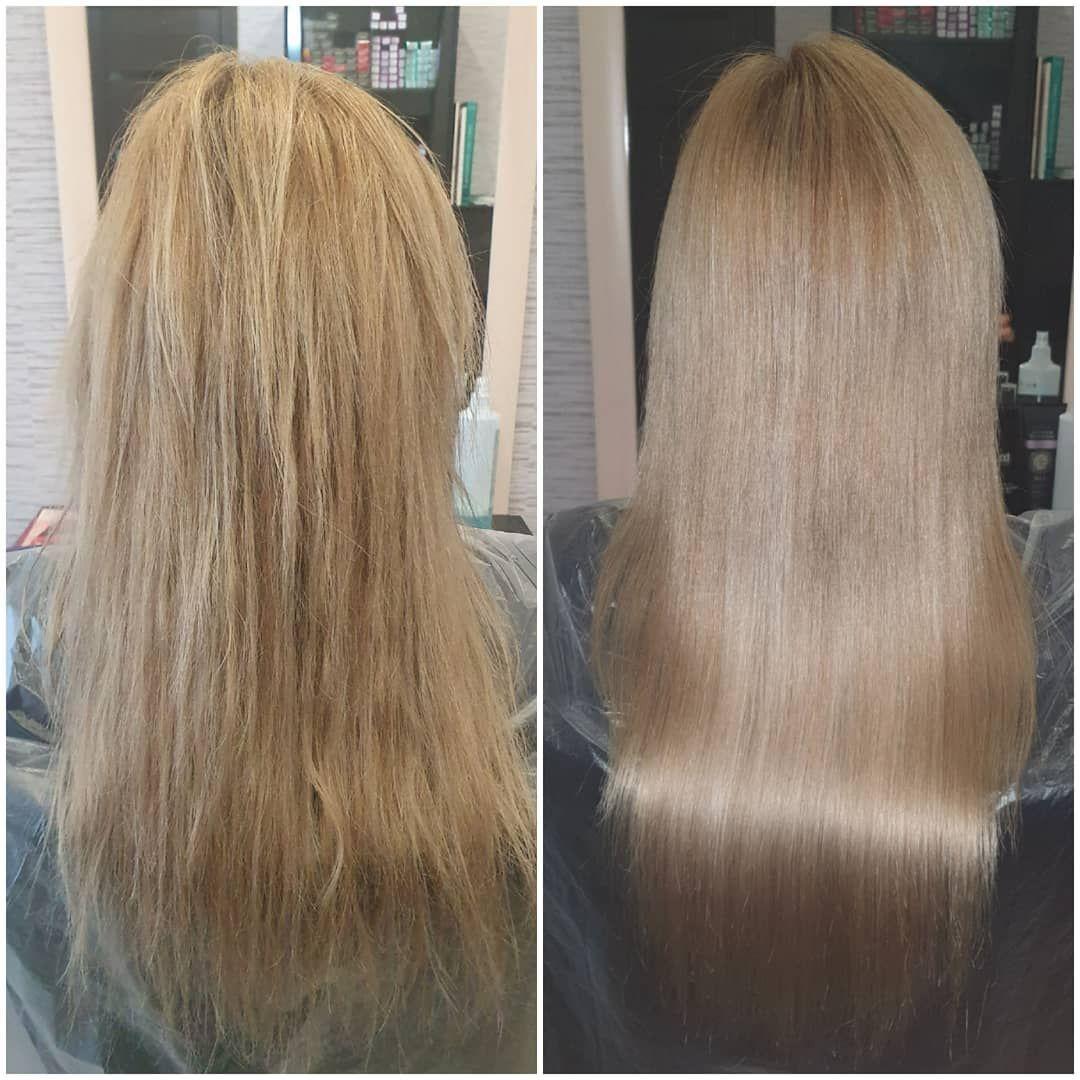 Кератиновое выпрямление волос 😍😍😍 Состав смыт и высушен ...