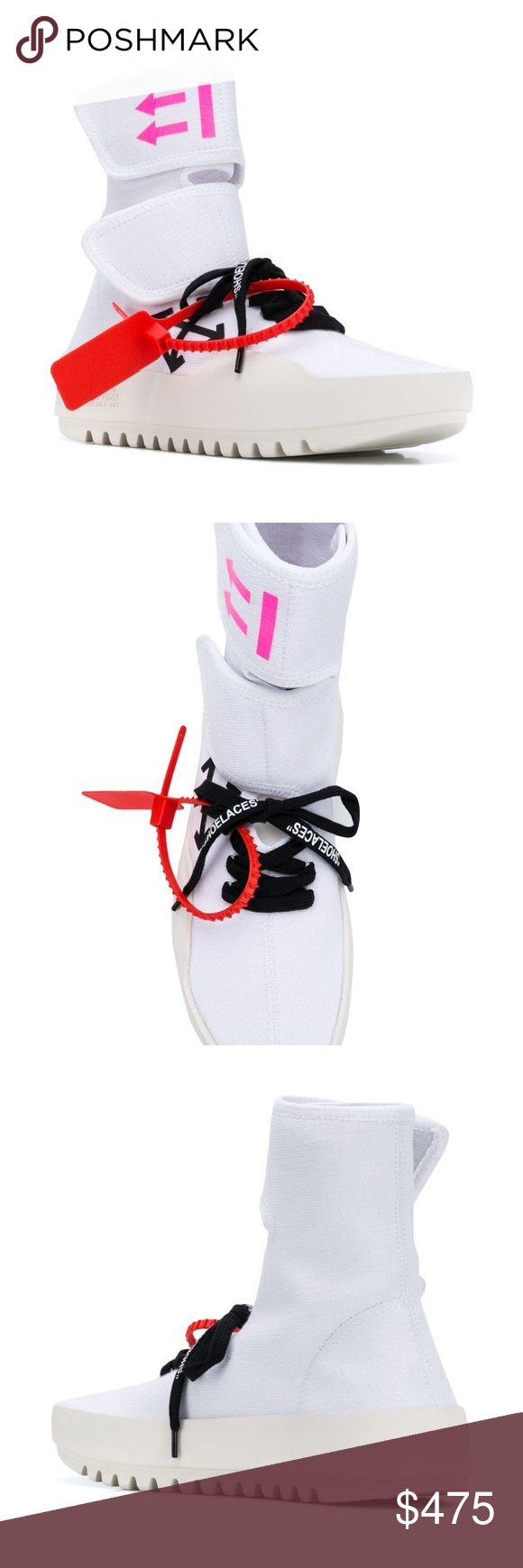 Off-White sneakers Extremely on trend ,make a statement with this white CST-001 …