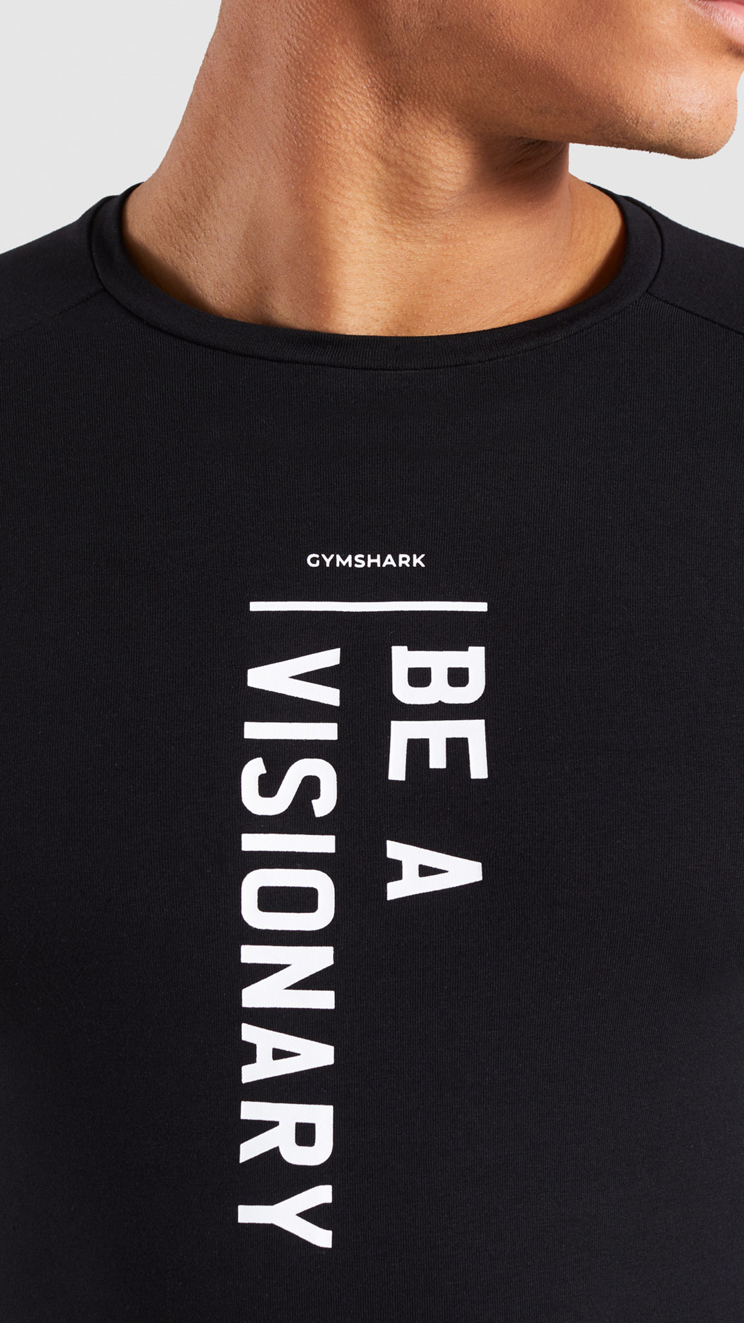 7f29c163b1de You know what to do... Be a Visionary! #Gymshark #Gym #Sweat #Train  #Perform #Top #Exercise #Strength #Strong #Power #Fitness  #OutfitInspiration #Tshirt ...