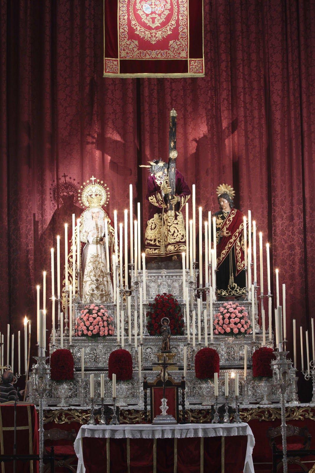 Altar de Culto (Hermandad de San Roque, Sevilla)