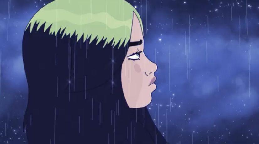 Billie Eilish My Future In 2020 Billie Eilish Billie Anime Drawings Tutorials
