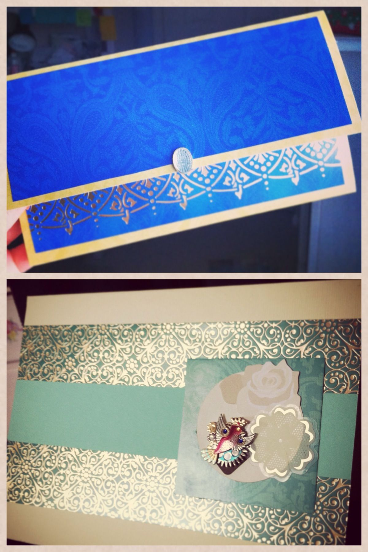 Personalized Cards I made  #art