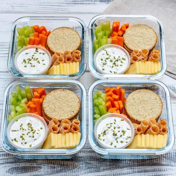 Homemade Ranch Delight Bento Boxes for Eating Clean All Summer! #bentoboxlunch