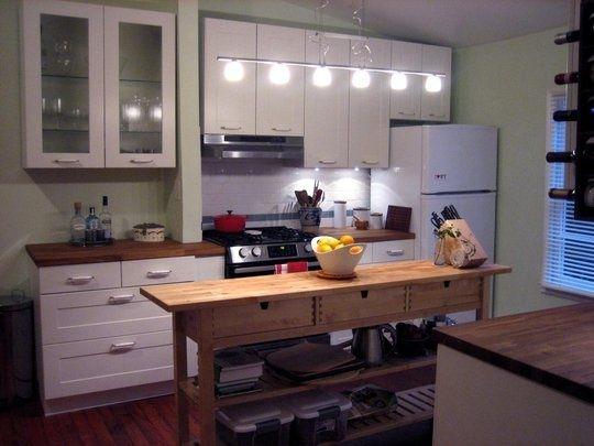 Long Skinny Kitchen Island   Google Search