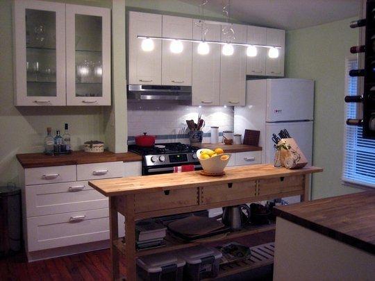 long skinny kitchen island - Google Search | Narrow ...