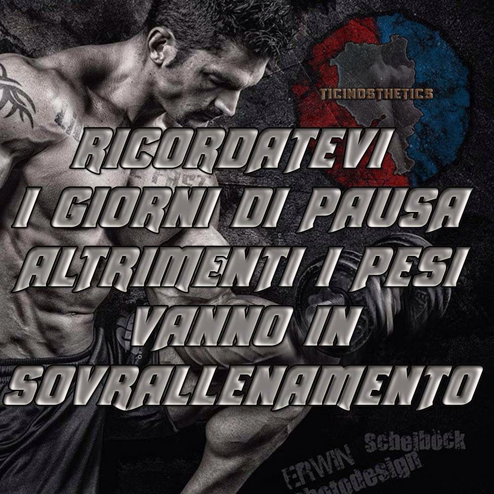 Ricordatevi i giorni di pausa altrimenti i pesi vanno in sovrallenamento!!! #pesi #sovrallenamento #pausa  Ticinosthetics - Bodybuilding e Fitness Ticino e Italia   Altri video sul Fitness: https://www.facebook.com/ticinosthetics/videos  Gruppi sul Fitness: http://on.fb.me/1GFKWjc  #palestra #palestrati #ticinosthetics #ticino #italia #fitnessticino #bodybuildingticino #bodybuildingitalia #fitness #fitnessitalia #culturismo #bodybuilding  #bodybuilder #natural #fitness #shrdd #shre