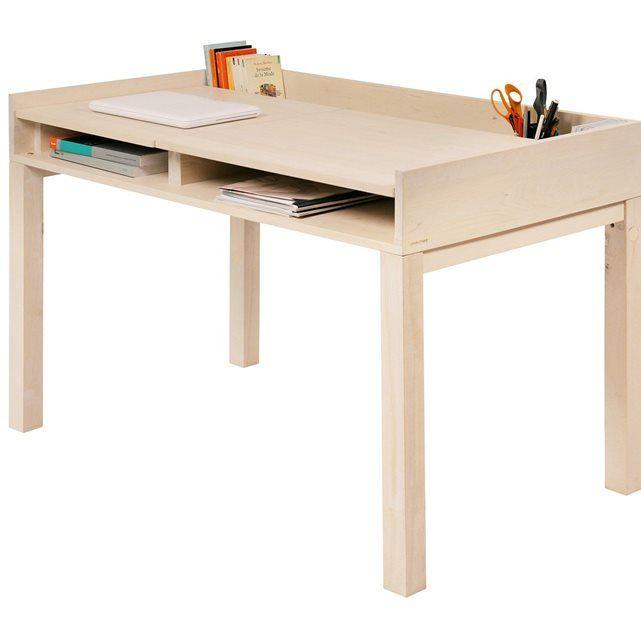 Non Jetable bureau private desk bouleau nonjetable | eloise | pinterest
