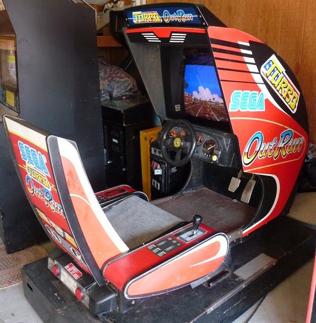 outrun arcade cabinet - Google Search | Video Games | Pinterest ...