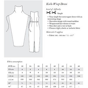 Named Clothing Kielo Wrap Dress Sewing Pattern Diy Clothing I Can