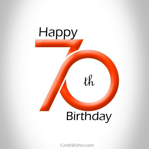 Have The Best 70th Birthday Ever Happy 70 Birthday Birthday Greetings For Facebook 70th Birthday