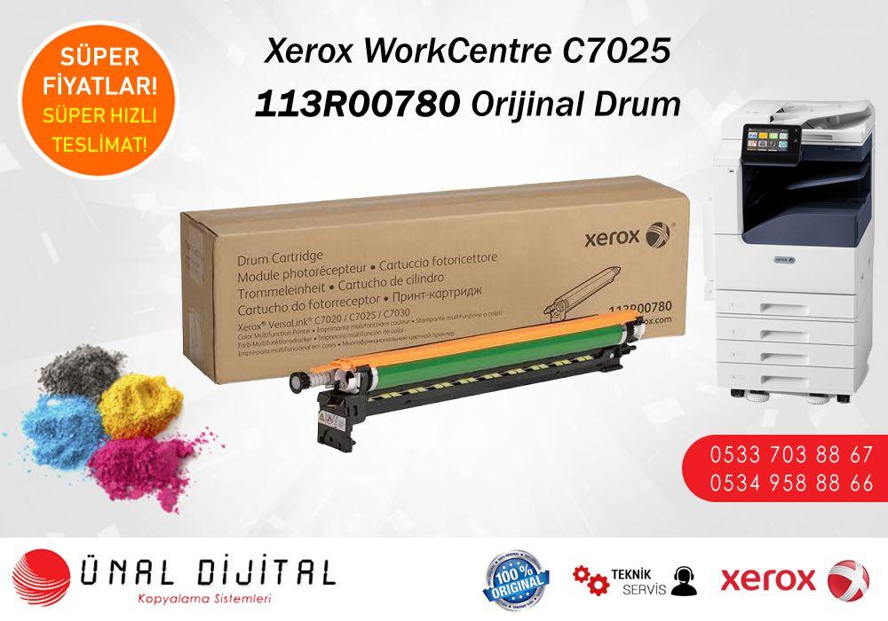 113r00780 Xerox Workcentre C7025 Orijinal Drumlari Stoklarimizda