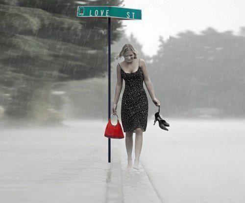 raining....