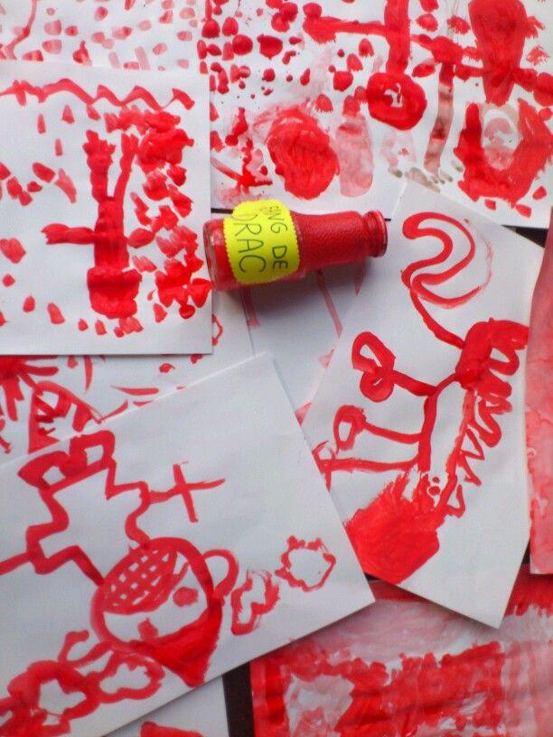 Pintem amb sang de drac