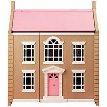 Buy John Lewis Wooden Dollu0027s House, Leckford House From Our Doll Houses U0026  Furniture Range At John Lewis. Free Delivery On Orders Over