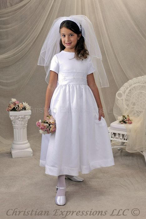 e2a65a4d23b5c first communion dress | First Communion Dress Patterns | First ...