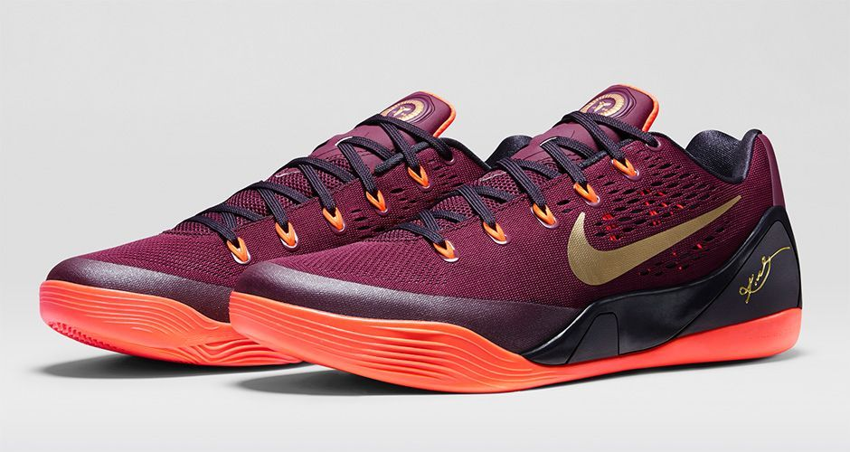 separation shoes ed524 726aa ... kobe 9 low red and orange ...