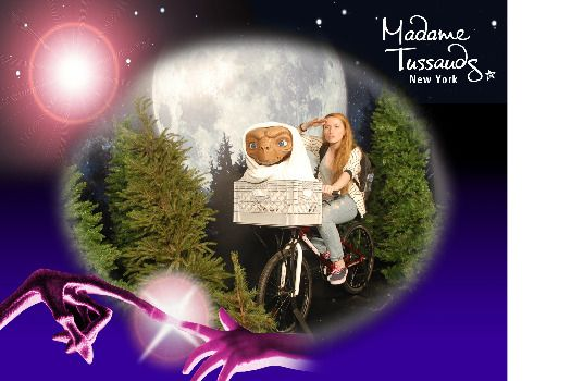 Check out my photo from Madame Tussauds New York!