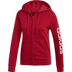 Adidas Damen Kapuzensweatjacke Essentials Linear, Größe Xl