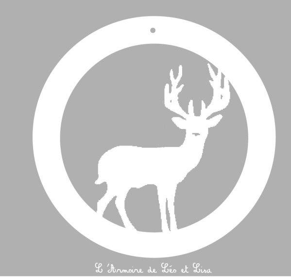 Gabarit renne noel cameo silhouette pinterest renne for Decoration fenetre renne