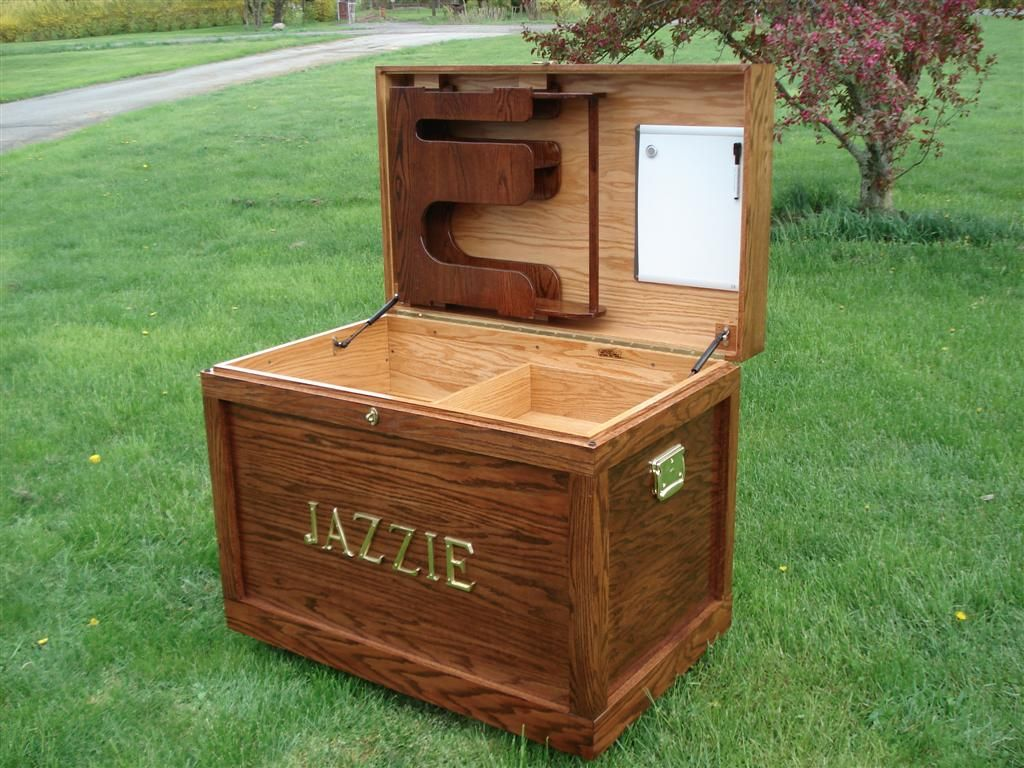 Tacktrunk Tack Trunk Woodworking Projects Woodworking