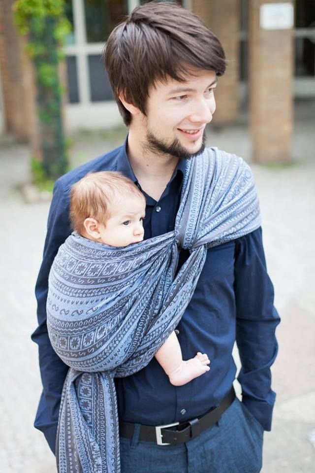 Father And Baby Can Explore The World Together When Dad Wraps Up His