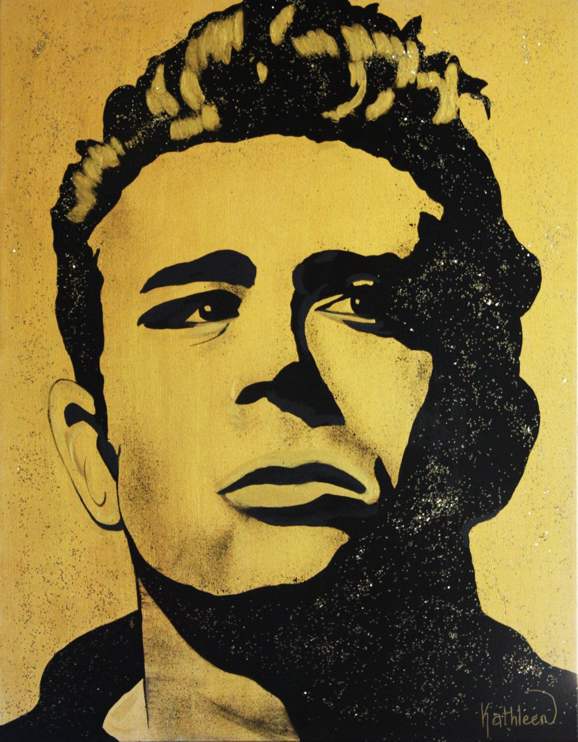 James DEAN Art Painting Wall Art Gifts Home Decor Pop Art Original ...