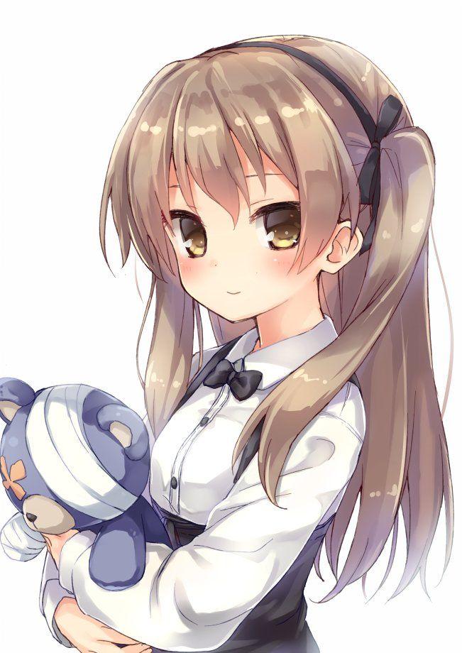 Teddy Bear Anime Girl : teddy, anime, Anime