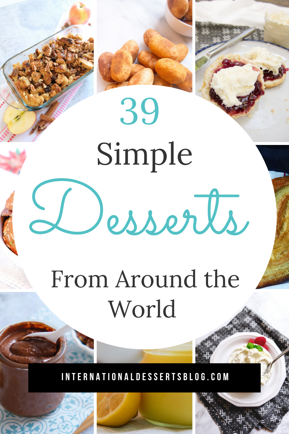 Desserts From Around The World 39 Easy Recipes To Make At Home Using Mostly Pantry Ingredients Dessert Recipes Easy Homemade Dessert Recipes Easy Homemade Recipes Dessert