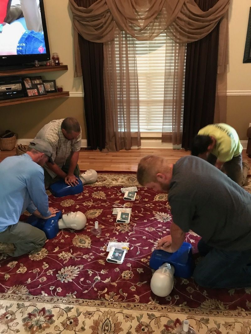 Attentive safety offers aha cpr and bls training classes 7