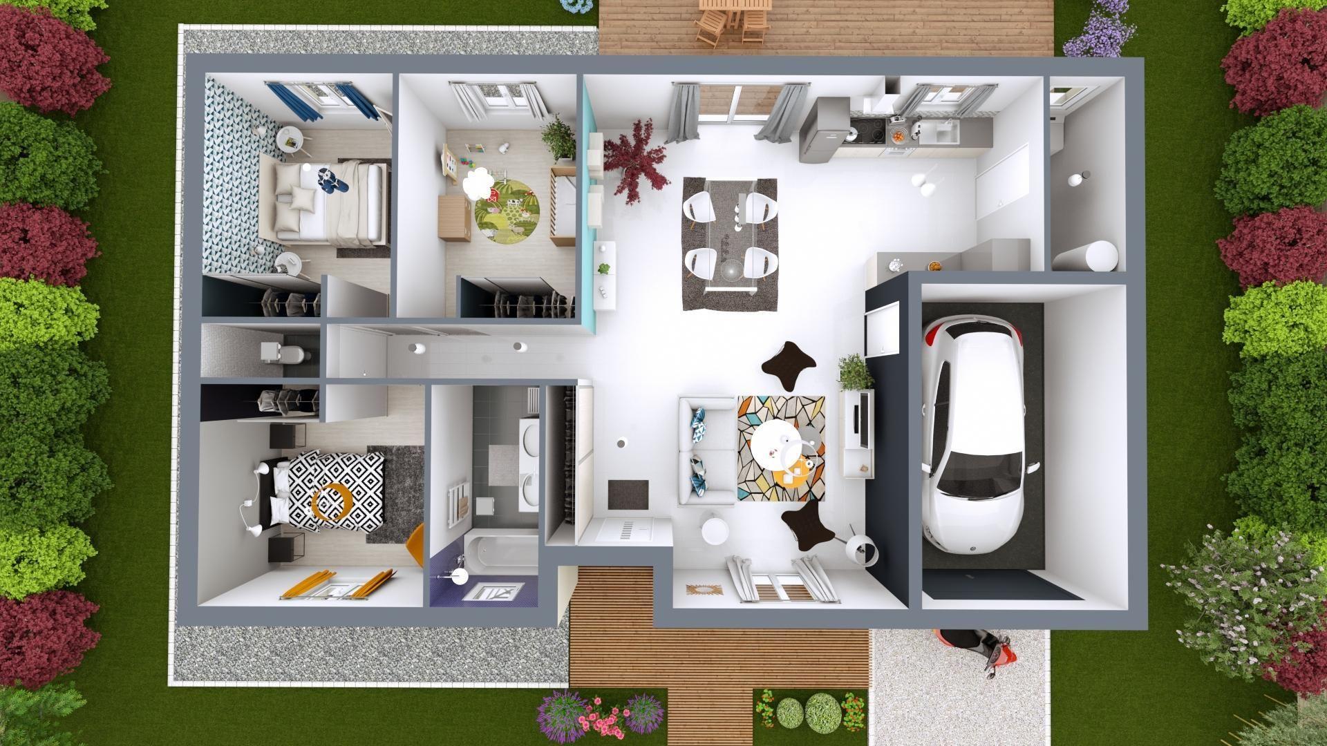 Modele De Maison Jeune Budget Maison Mca Budget Maison Plan
