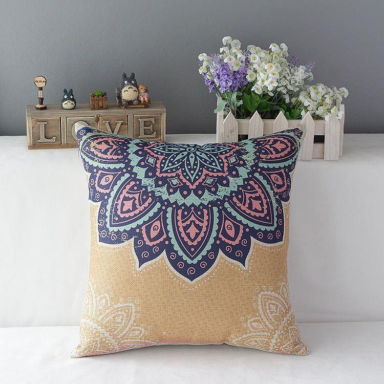 Mandala Pillow Cover | Throw pillows