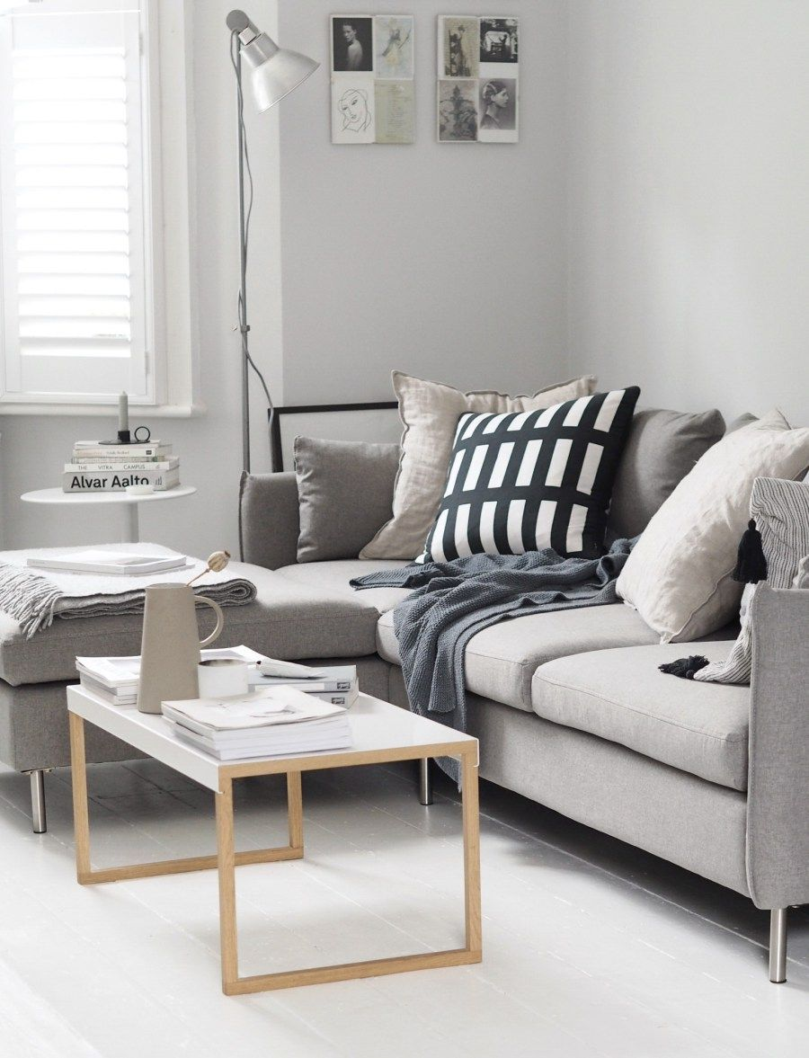 Minimal Grey Living Room Beige Corner Sofa Our New Vento Grey Corner Sofa From Made Com In 2020 Living Room Grey Corner Sofa Living Room Beige And Grey Living Room