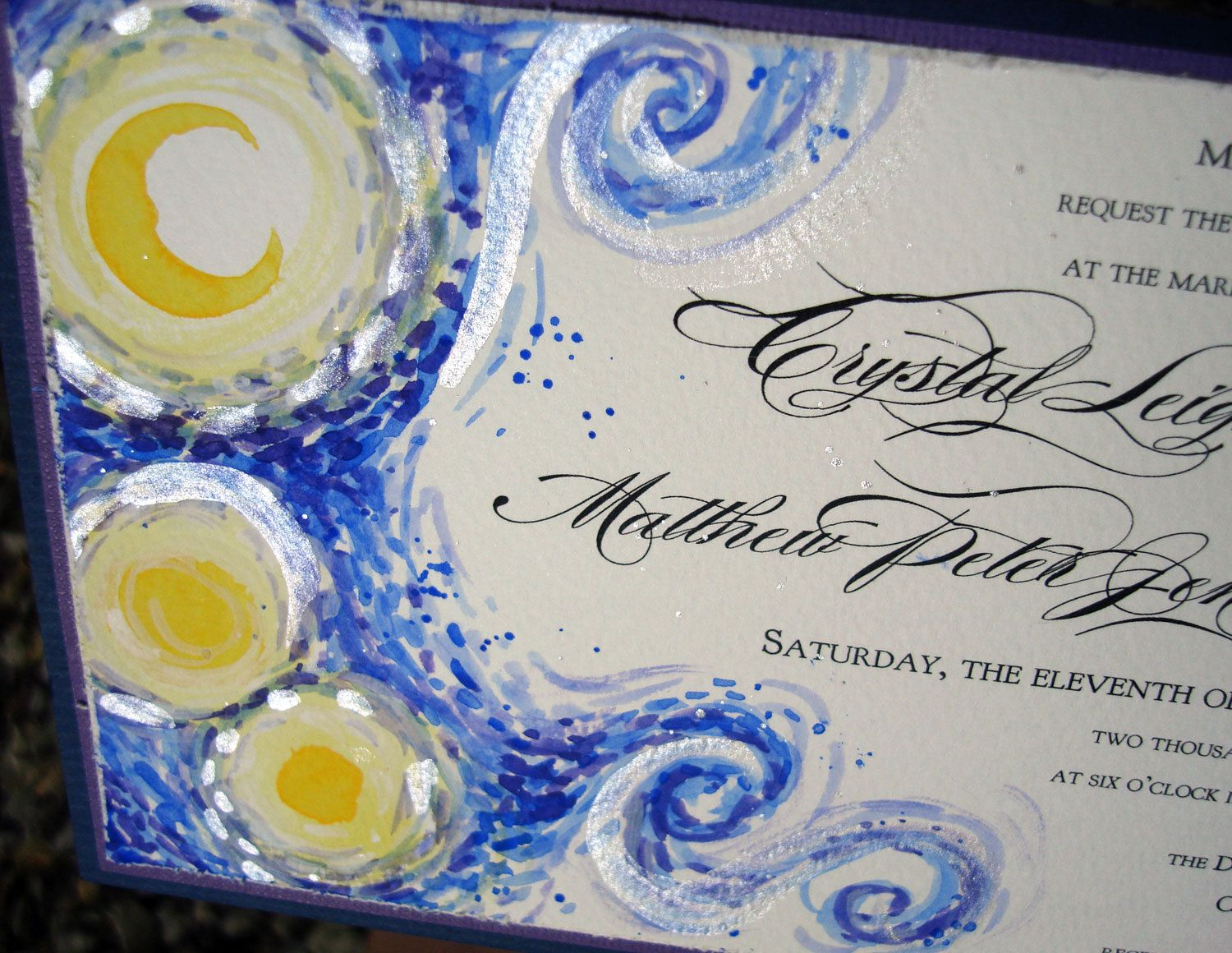 24 best van gogh wedding theme images on pinterest starry night