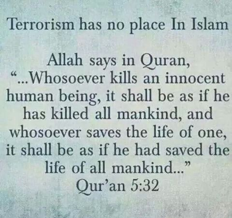 Terrorists Hide Behind The Mask Of Islam..they Have No Religion