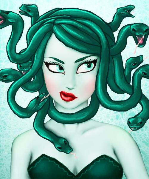 Tumblr Mgd7glrgh91r97wd5o1 500 Png 500 600 Mitología Griega Medusa Arte De Medusas Gorgona Medusa
