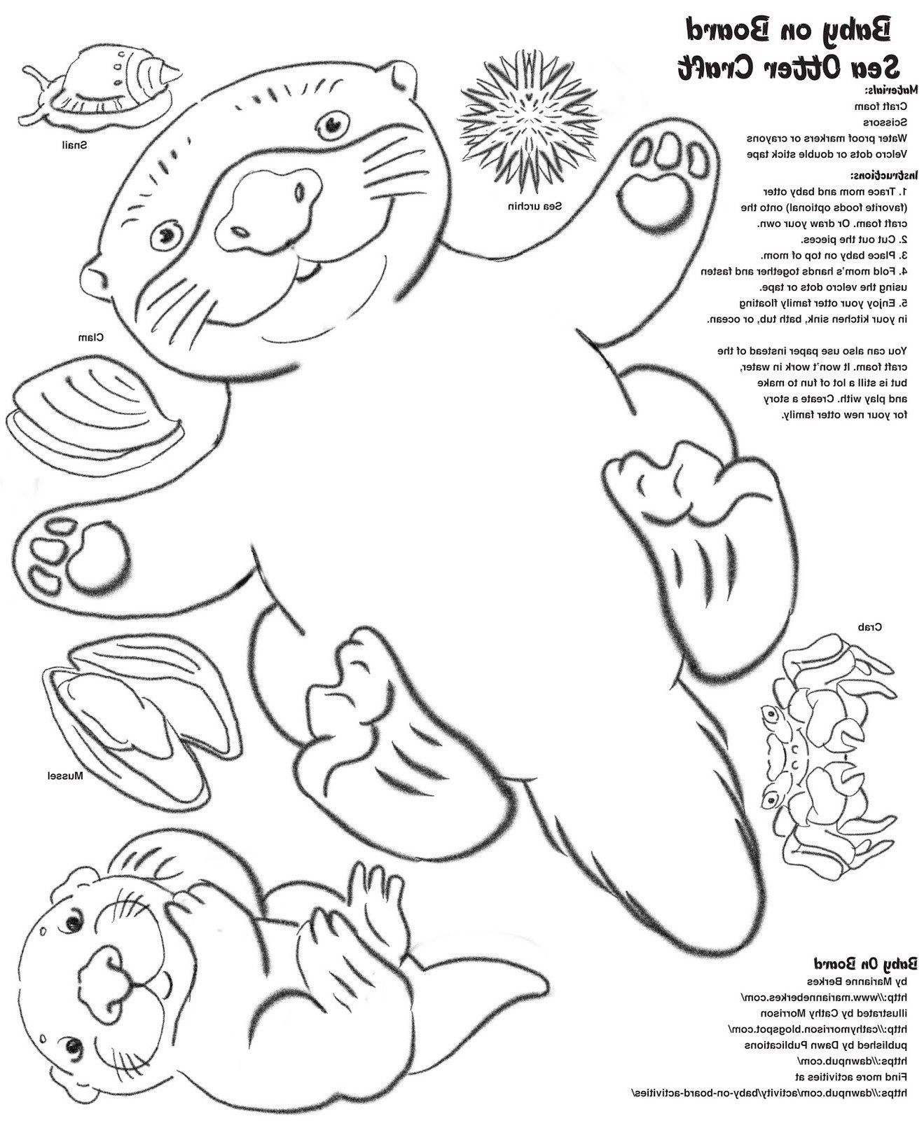25 Great Image Of Otter Coloring Pages Davemelillo Com Otters Sea Otter Coloring Pages