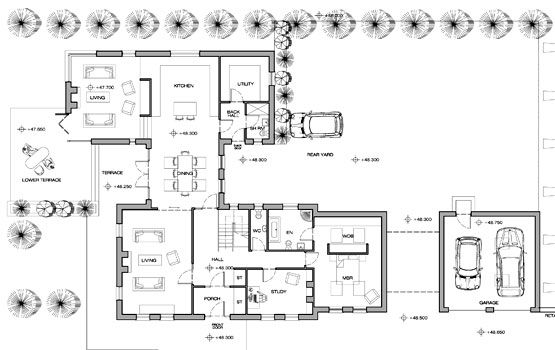 Traditional Family Home Armagh Wilson Mcmullen Architects Cottage House Plans House Floor Plans House Plans