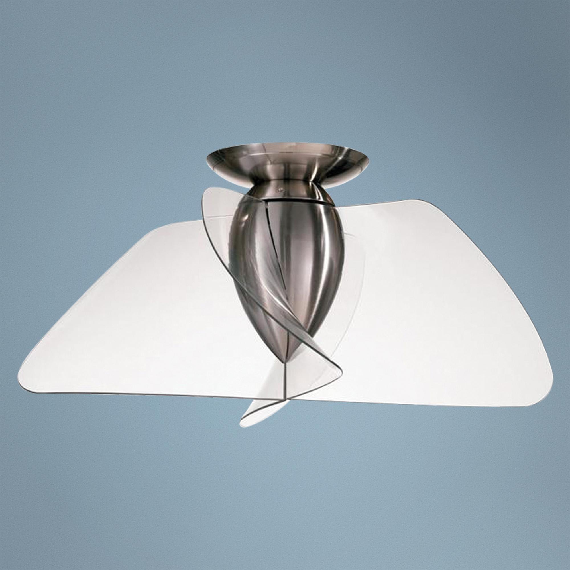 42 Quorum Angel Collection Clear Blade Ceiling Fan Lampsplus