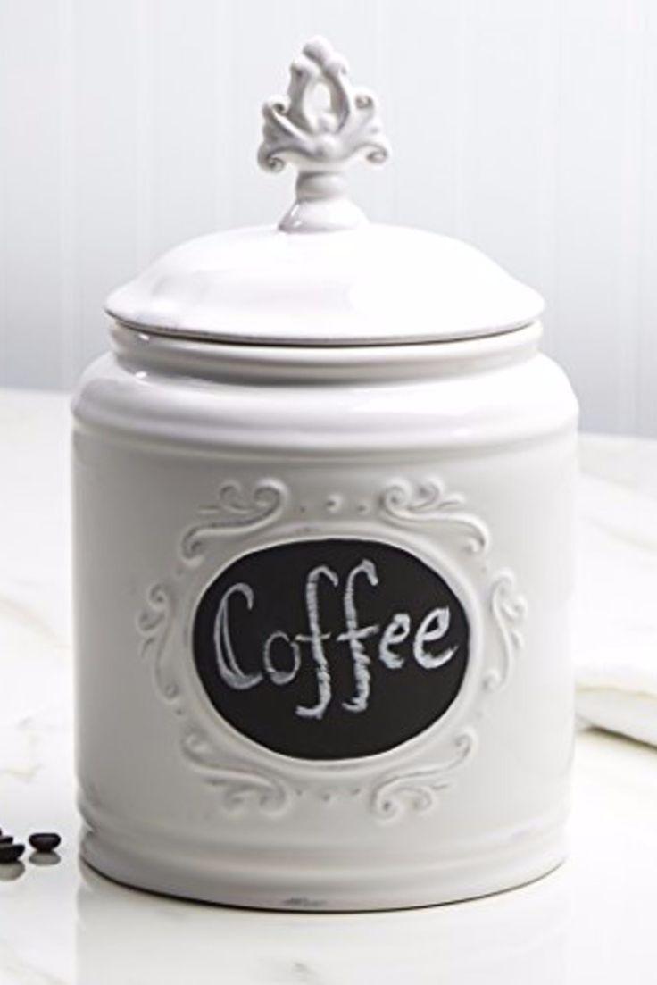 Farmhouse Kitchen Canister Sets and Farmhouse Decor Ideas | Coffee ...