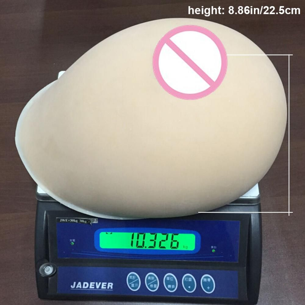 Ivita 23xl 20kg Large Realistic Fake Boobs Silicone Breast Forms Simulation For Crossdressers Drag Queen Huge Breasts Cosplay