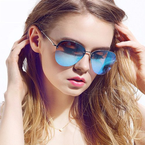 awesome Traditional Vintage Design Shades Ladies Manufacturer Custom Classic Sunglass Sunlight Eyeglasses UV Eyeglasses Oculos Gafas De Sol contacts tones