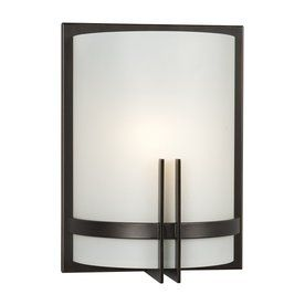 Shop Galaxy Corbett 9 In W 1 Light Oil Rubbed Bronze Pocket Wall Sconce At Lowes Com Contemporary Wall Sconces Sconces Wall Sconces