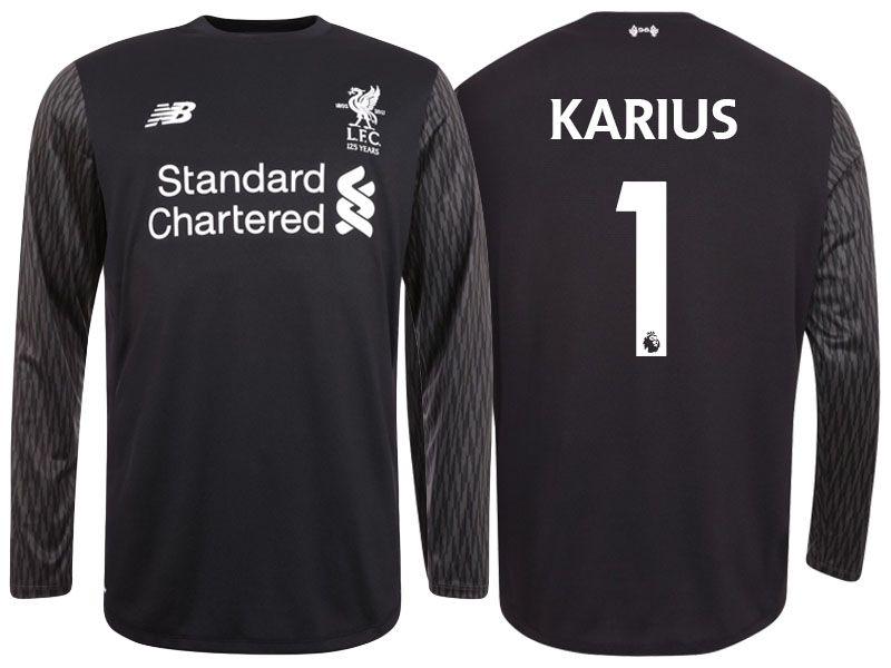 be63e018abe ... best quality China soccer shirts. Liverpool Shirt loris karius 17-18  Away goalkeeper Long Sleeve jersey