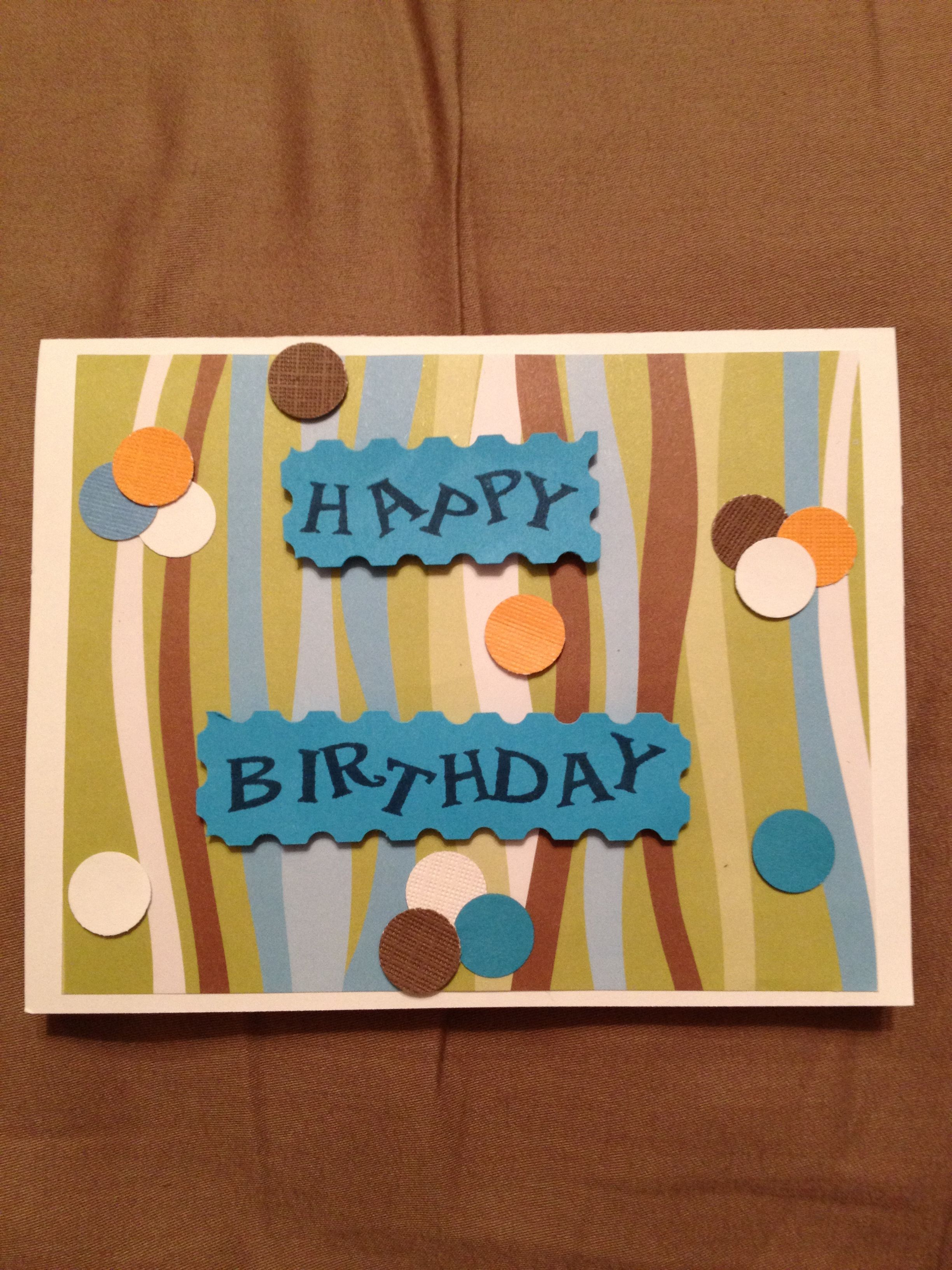 Birthday card for dad cards masculine pinterest dads cards
