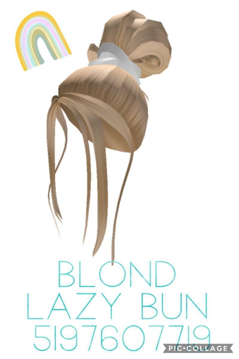 Pin By Hor Fahad On Roblox Feer In 2020 Blonde Hair Roblox Roblox Codes Blonde Bun