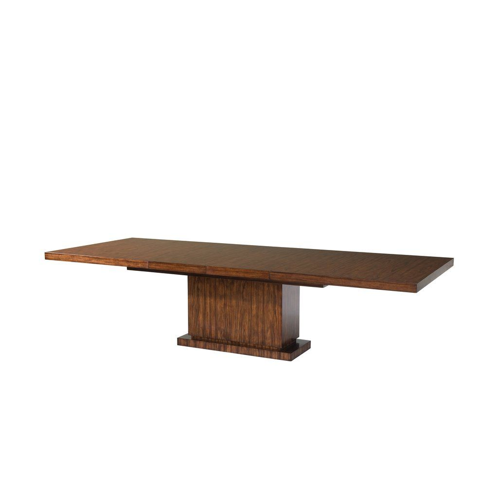 Art Deco Pacific Walnut Veneered Extending Dining Table English Georgian America стол