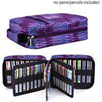 Pencil Case Holder Slot Holds 202 Colored Pencils Or 136 Gel