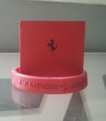 #Ferraridesign - Ferrari Wrist band red https://t.co/BfVRHCftRP https://t.co/NIPwxCC7nL