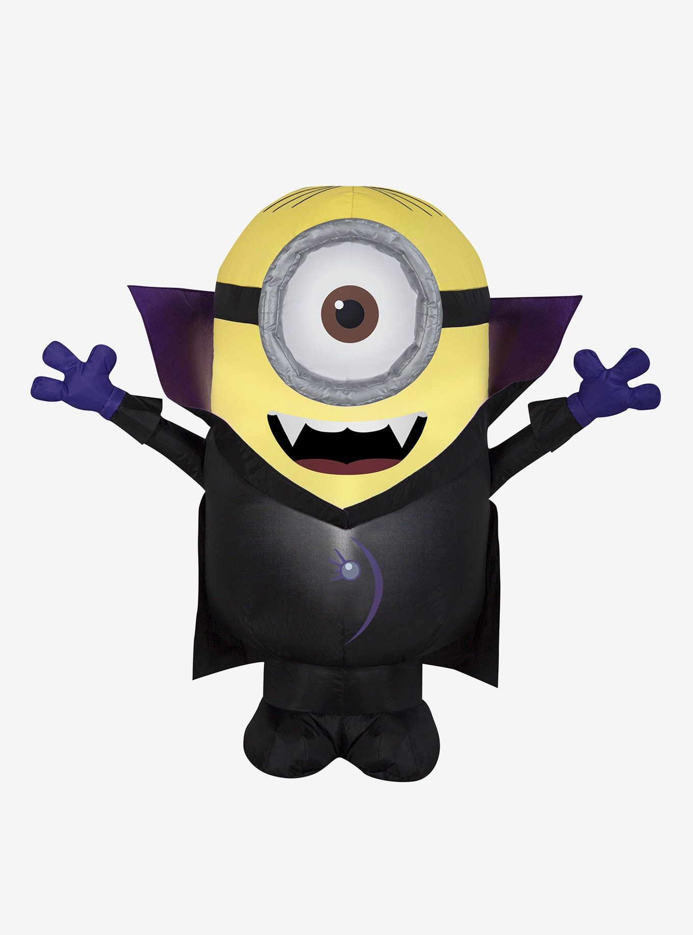 Minions Gone Batty Airblown Minions Minion Halloween One Eyed Minion